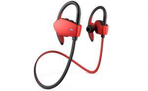 ENERGY SYSTEM - Energy Sport 1 - Auscultadores intra-aurais com microfonoe - intra-auricular - montagem sobre a orelha - sem fios - bluetooth - vermelho