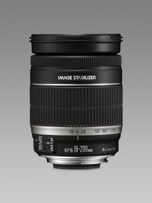 CANON - Objectiva EF-S 18-200mm f3.5-5.6 IS