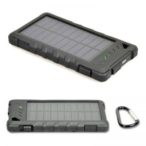PORT DESIGNS - Solar Power Bank Battery 8000 MAH