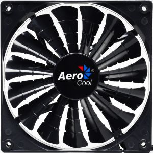 AEROCOOL - VENTOINHA SHARK 14 CM BLACK - SHARK14