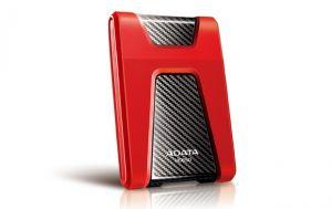 ADATA - DashDrive Durable HD650 Disco rigido 1 TB externa (portatil) 2.5P USB 3.0 vermelho
