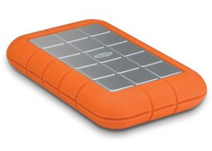 LACIE - Rugged Triple 2:5Pol 500GB  /  USB 3.0 & FireWire 800