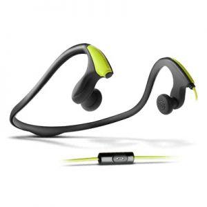 ENERGY SYSTEM - Energy Earphones Running One - Desporto - auscultadores intra-aurais com microfonoe - botão de orelha - montagem por debaixo do pescoço - 3.5 mm jack - verde neon - para Phone Max 4G