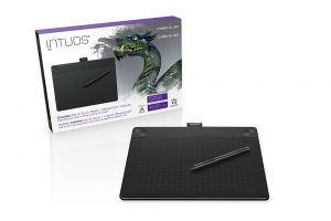 WACOM - Intuos 3D Black PT M South - CTH-690TK-S