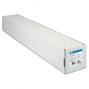 HP - Bright White Inkjet Paper: A1 metric roll: 23.39 in wide: 24 lb: 90 g / m²: 150 ft: 45.7 m