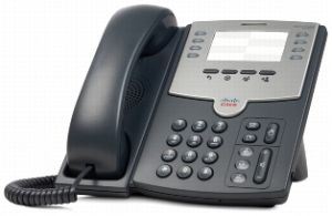 CISCO - 8 Line IP Phone with PoE and PC Port - SPA501G