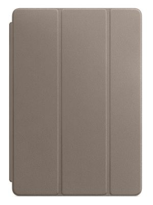 APPLE - Leather Smart Cover for 10.5-inch iPad Pro - Taupe