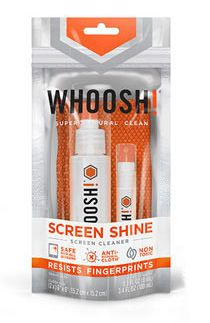 WHOOSH! - Screen Shine cleaner Duo - 2 pack (Bag) in English and Spanish