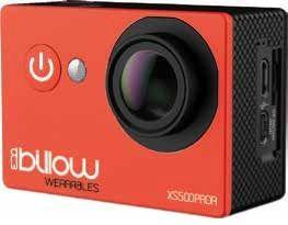 BILLOW - ACTION CAM 1080P, WIFI, 170º C/ ACESSÓRIOS, RED - XS500PROR - XS500PROR