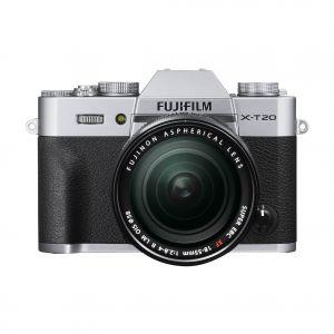 FUJIFILM -  X-T20 SILVER + XF18-55 F2.8-4 R LM