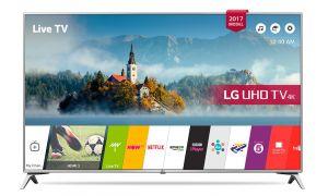 LG - LED TV 43P UHD IPS 4K SMART TV WEBOS 43UJ6