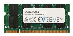 V7 - 2GB DDR2 533MHZ CL5 MEM SO DIMM PC2-4200 1.8V - V742002GBS