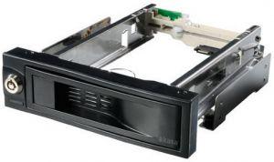 HITEC - Extraível móvel de 5.25P SATA III para discos 3.5P preto