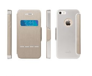MOSHI - SENSECOVER IPHONE 5 / 5S (BRUSHED TITANIUM)