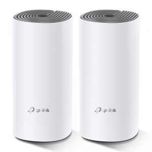 TP-Link - AC1200 Whole-Home Mesh Wi-Fi System, Qualcomm CPU, 867Mbps at 5GHz+300Mbps at 2.4GHz, 2 10/100Mbps Ports, 2 internal antennas, MU-MIMO, Beamforming, Parental Controls, Quality of S