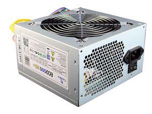 OEM - FONTE ALIM. OEM 300W ATX COOLBOX ECO-500 85+ (CERTIF. CE 85% EFIC)
