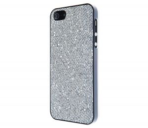VCUBED3 - Glitter iPhone 5 / 5S (silver)