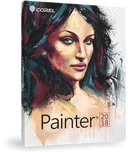 COREL - Painter 2018/WIN MAC/DVD