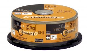 INTENSO - CD-R 700Mb 52x Cake 25un.