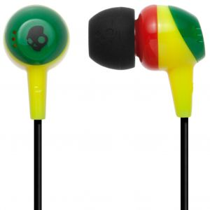 SKULLCANDY - SKULLCANDY EARPHONE JIB IN-EAR W/O MIC RASTA