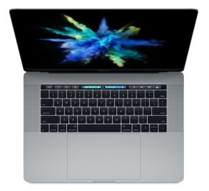 APPLE - 15-inch MacBook Pro with Touch Bar: 2.8GHz quad-core i7: 256GB - Space Grey