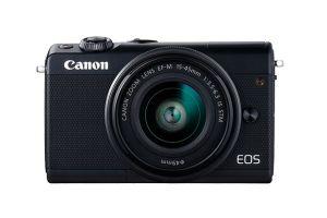 CANON - EOS M100 Black M15-45 S+CC-FJ001 - 24.2 megapixels, Ecrã tátil inclinável, Full HD 60P, Bluetooth, Wi-Fi/NFC