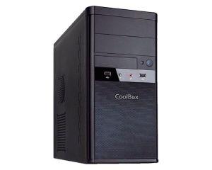 COOLBOX - CAJCOOM55U3SF TORRE Preto Caixa de PC - COO-PCM55-SF