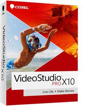 COREL - VideoStudio Pro X10 - Pacote de caixa - 1 utilizador (mini-box) - Win - Multi-Lingual - Europa