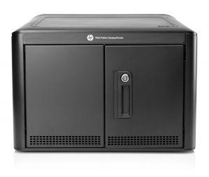 HP - Tablet Charging Module - Unidade gabinete para 10 tablets - alumínio - preto, cinza claro - para Envy, Envy Sleekbook, ENVY TouchSmart, ENVY TouchSmart Sleekbook, Envy x2, ENVY x360, x2