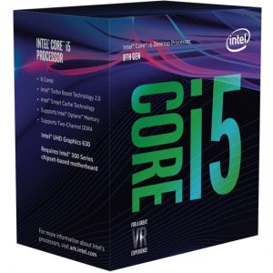 INTEL - Core I5-8400 2.8GHz 9MB LGA 1151 ( Coffee Lake) (Requer board c/ chipset série 300)