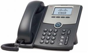 CISCO - 1 Line IP Phone with Display PoE PC Port - SPA502G