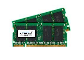 Crucial 2GB DDR2 SODIMM 2GB DDR2 667MHz módulo de memória