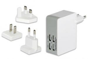 EDNET - USB CHARGER UNIVERSAL 4X USB MAX. 5V/4.