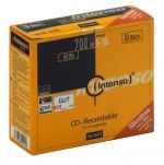INTENSO - CD 700mb 52x slim 10 Pack