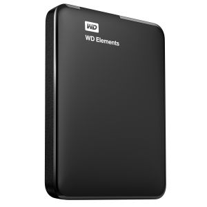 WD - Elements Portable WDBUZG5000ABK - Disco rígido - 500 GB - externa (portátil) - USB 3.0