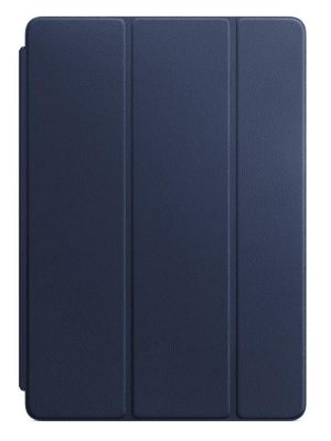APPLE - Leather Smart Cover for 10.5-inch iPad Pro - Midnight Blue