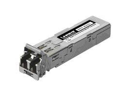 Linksys - Gigabit Ethernet SX Mini-GBIC SFP Transceiver - MGBSX1