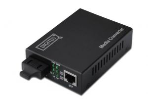 ASSMANN - NETWORK - DIGITUS GIGABIT MEDIA CONVERTEREXT RJ45/SC  - DN-82120-1