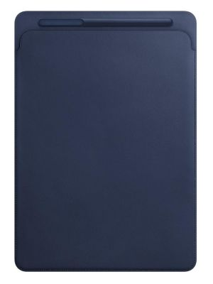 APPLE - Leather Sleeve for 12.9-inch iPad Pro - Midnight Blue