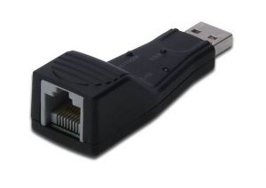Digitus Fast Ethernet USB 2.0 Adapter Ethernet 100Mbit/s placa de rede