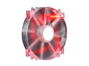 COOLER MASTER - 200mm Case Fan Sleeve Bearing Red Led (For COSMOS S HAF 932 ATC 840 HAF 922 CM Storm..)