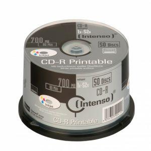 INTENSO - CD-R 700MB / 80MIN PRINTABLE CD-R 700MB 50Unid