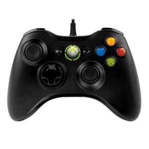 MICROSOFT - XBOX 360 WIRED CONTROLLER FOR PC BLACK