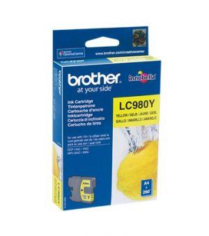 BROTHER - TINTEIRO 980 AMARELO