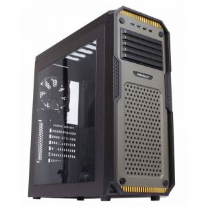 ANTEC - GX909 MIDI-TOWER Preto VERDE Caixa de PC