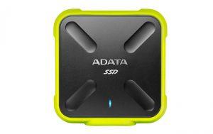 Adata - DISCO RiGIDO EXT USB 3.1 2.5 SSD 256GB SD700 Amarelo