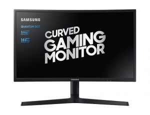 SAMSUNG - LC24FG73FQUXEN 24P FHD 1MS CURVED HAS DP/HDMI
