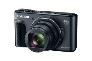 CANON - PowerShot SX730HS Preta - CMOS tipo 1/2,3P com retroiluminação, 20.3 MP, DIGIC 6 com tecnologia iSAPS, Zoom Ótico 40x, ZoomPlus 80x, Wi-Fi e NFC, LCD (TFT) de 7,5 cm (3,0P) de tipo inclinável
