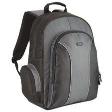 TARGUS - Essential Notebook Backpac: Black & Grey: Nylon