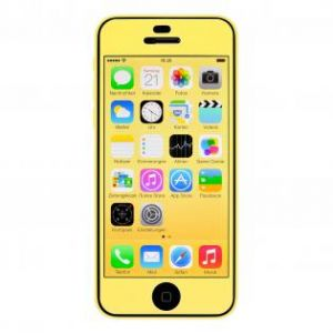 ARTWIZZ - SCRATCHSTOPPER COLOR IPHONE 5C (YELLOW)